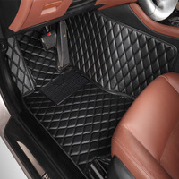 Car floor mats for Toyota Tundra Sequoia 4Runner 5D heavy duty all weather car styling carpet floor liners(2008 now)
