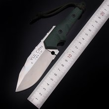 Hot  Dwaine Carrillo Fixed 154CM Blade Knife Hunting Knife Survival Tactical Knives Camping Outdoor Tools With Kydex Sheath