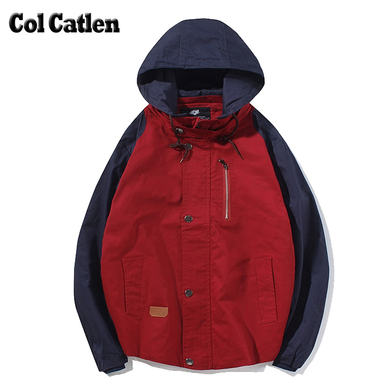 New brand winter jacket men fashion casual hooded men s jackets and coats autumn cotton male