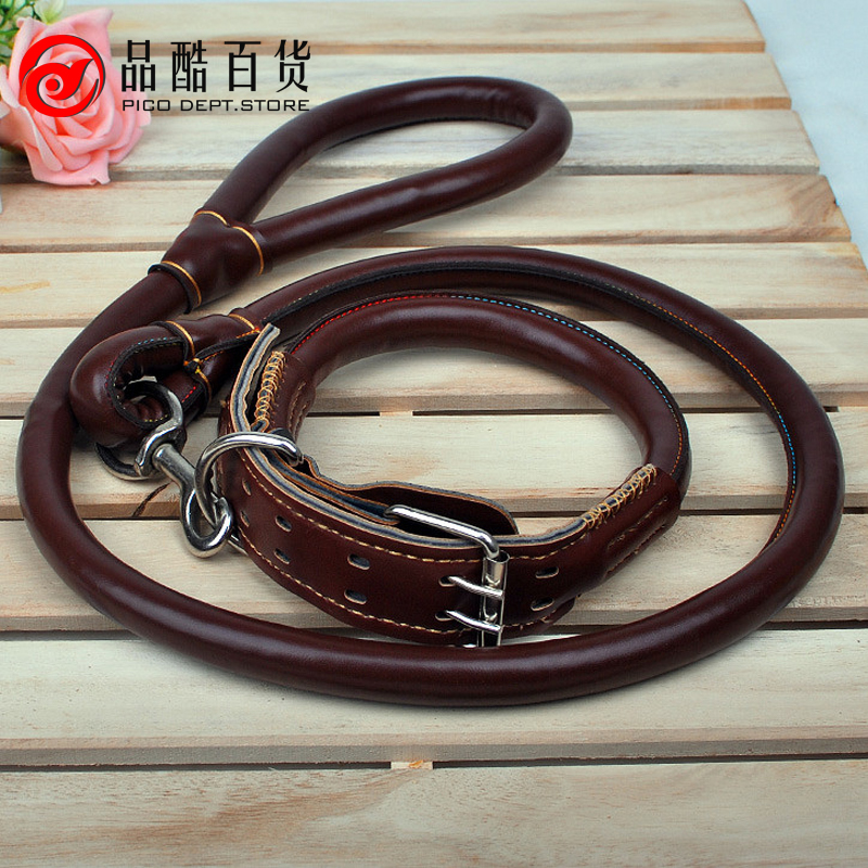 popular large leather dog harness buy cheap large leather dog harness lots from china large. Black Bedroom Furniture Sets. Home Design Ideas