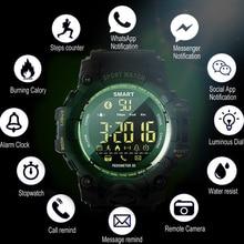 Smart Watch Sports Fitness Bracelet Waterproof Camera Alarm Long Standby Military Smartwatch Bluetooth Pedometer Wrist Watch original waterproof u8s sport u watch bluetooth smart wrist sports