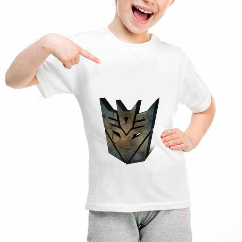 Новые трансформаторы b036 база забавная одежда для детей, футболки в стиле «Летняя симпатичная одежда для маленьких мальчиков топы для девочек Трансформеры футболка