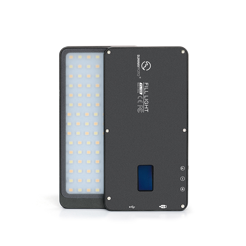 SUNWAYFOTO FL-120 светодиодный видео свет фото освещение на олимпу Pentax DV камера горячий башмак затемнения светодиодный для DSLR YouTube фотостудии