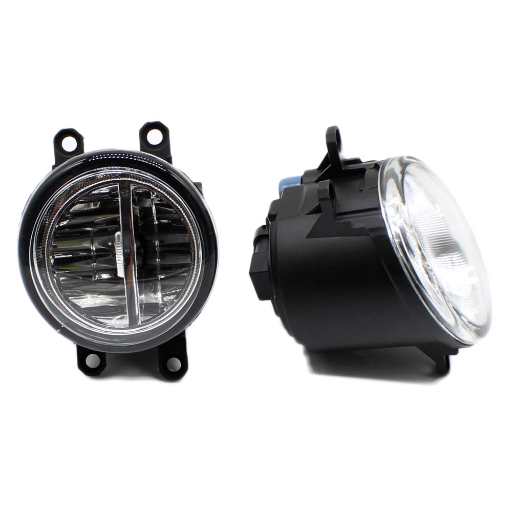 Yeats Led Daytime Running Lights Drl Led Front Bumper Fog: Aliexpress.com : Buy 2pcs Car Styling Round Front Bumper