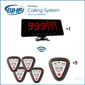 High Quality Service Calling Systems AC-C303+AC-S101 Service Buzzer Call Bell
