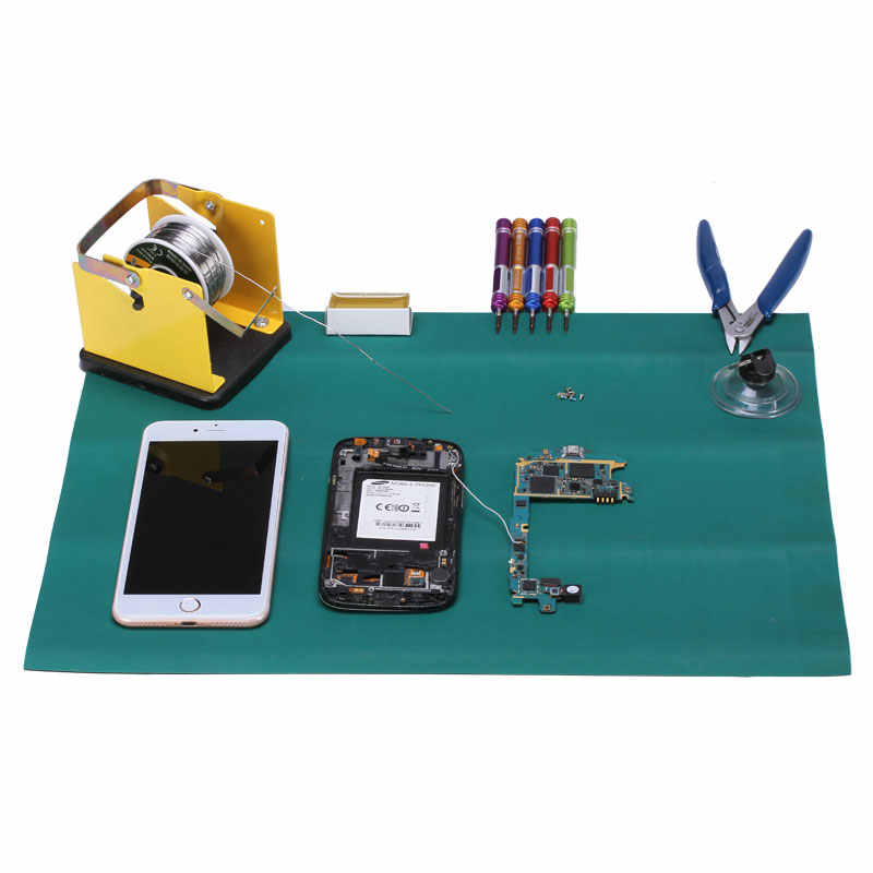 ESD анти-статические стол коврик обслуживания платформы обслуживания изолятор площадку для Тетрадь ПК телефон ремонт