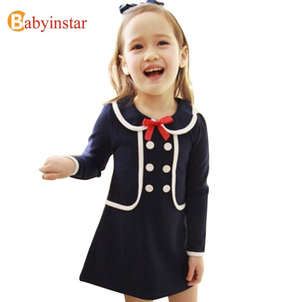 Детские платья для школы