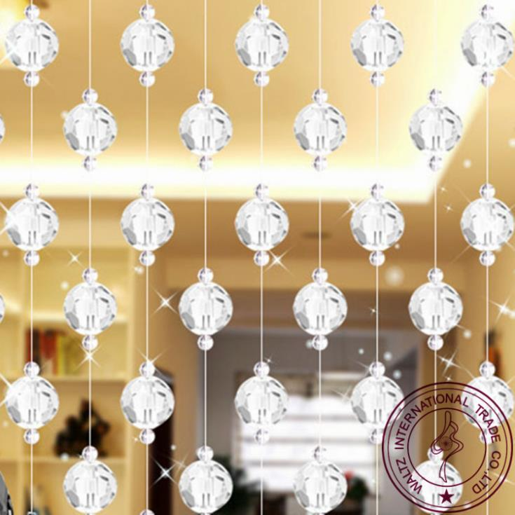 Crystal curtain for restaurant curtain window curtain entranceway ...
