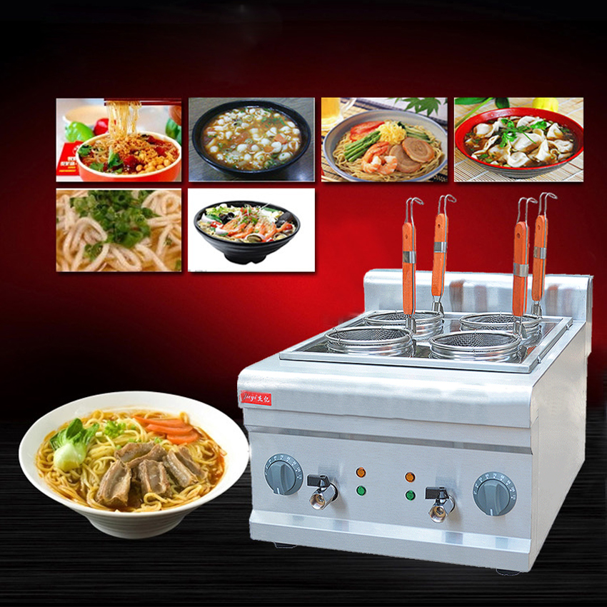 1PC FY-4M New and high quality electric pasta cooker,noodles cooker,cookware tools,cooking noodles machine 220v 600w 1 2l portable multi cooker mini electric hot pot stainless steel inner electric cooker with steam lattice for students