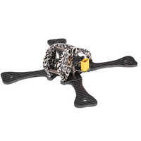 GEPRC GEP LX4 V3 185mm X Type 4in Carbon Fiber FPV Racing Drone Quadcopter Frame Kit with XT60 Power Distributor