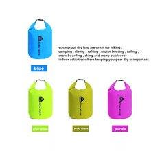 Новый 10л 20л открытый дайвинг сжатия для хранения водонепроницаемый мешок сухой мешок для мужчины женщины плавание рафтинг каяк дайвинг мешок