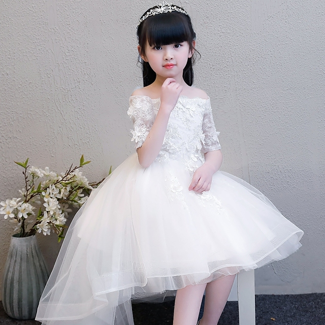 cf888c016 2019 New Spring Summer Children Girls Elegant Beautiful Flowers ...