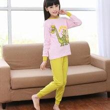 7e0a8dad1 Conjunto de pijama de dibujos animados para niños conjunto de ropa de  dormir de algodón de
