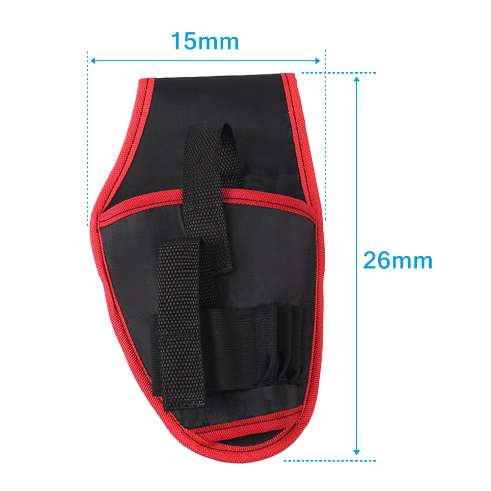Portable Tools Waist Bag Cordless Drills Holder Storage Pouch for 12V Electric Drill Tool --M25