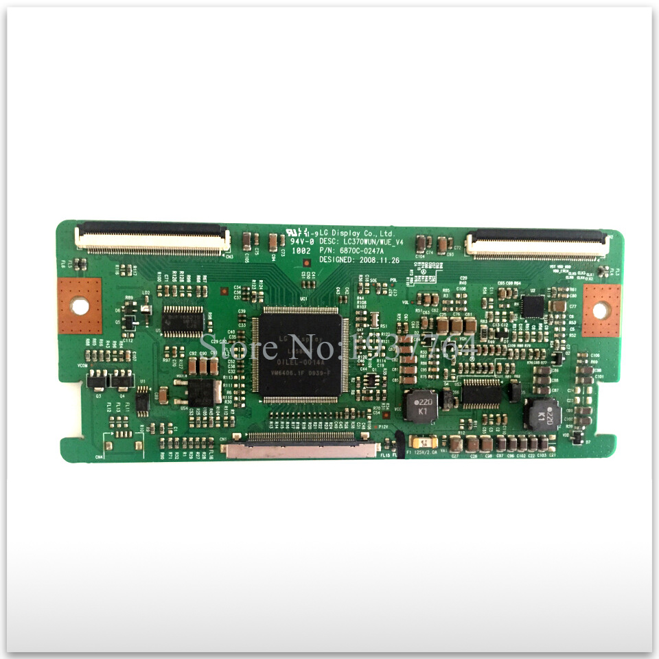good working High-quality original for board 6870C-0247A LC370WUN / WUE_V4 T-con logic board used ремень mango man mango man he002dmafmv3