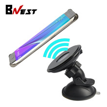 Bnest QI Wireless Car Charger Transmitter Stand Wireless Charging Holder for Samsung Galaxy S6 S7 Edge Plus Note 5 Nexus 4 5 6