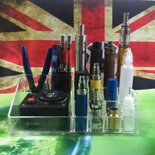 E XY Exhibition Rack Vape Box Mod Ego Bottle RDA RBA Atomizer Battery Shop Dispay Storage