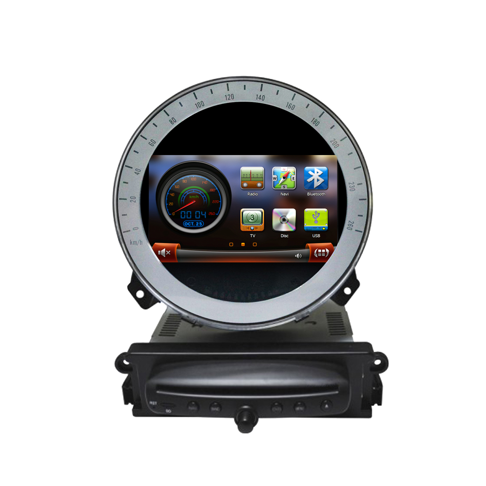 7inch touchscreen car dvd gps navigation for bmw mini. Black Bedroom Furniture Sets. Home Design Ideas