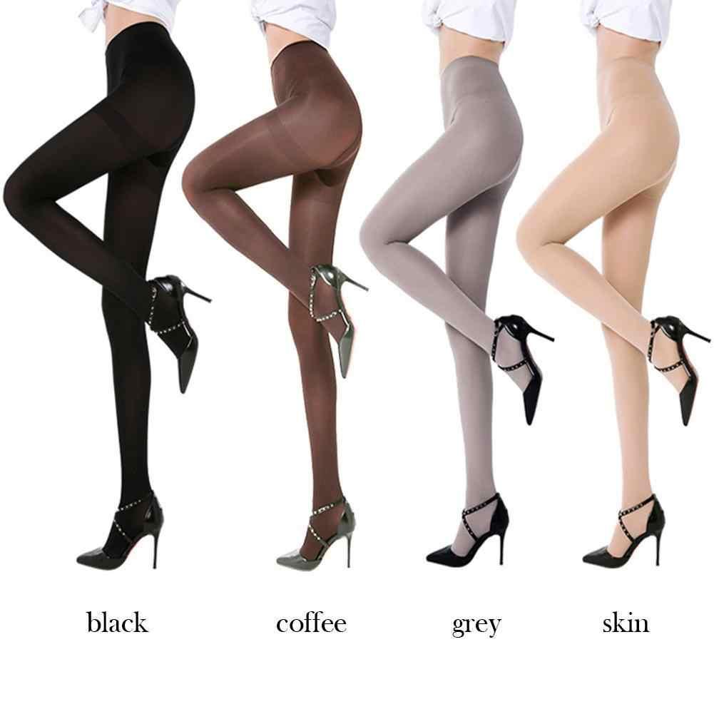 セクシーな女性透明シルクストッキング 2018 新発売夏ロング靴下弾性スリム薄型カジュアル女性膝高靴下黒ベージュ