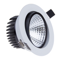 1PCS Free Shipping 7W/12W LED Down light COB Dimmable LED Recessed ceiling downlights Lamp For Home Lighting Decorate CE/ROHS цена 2017