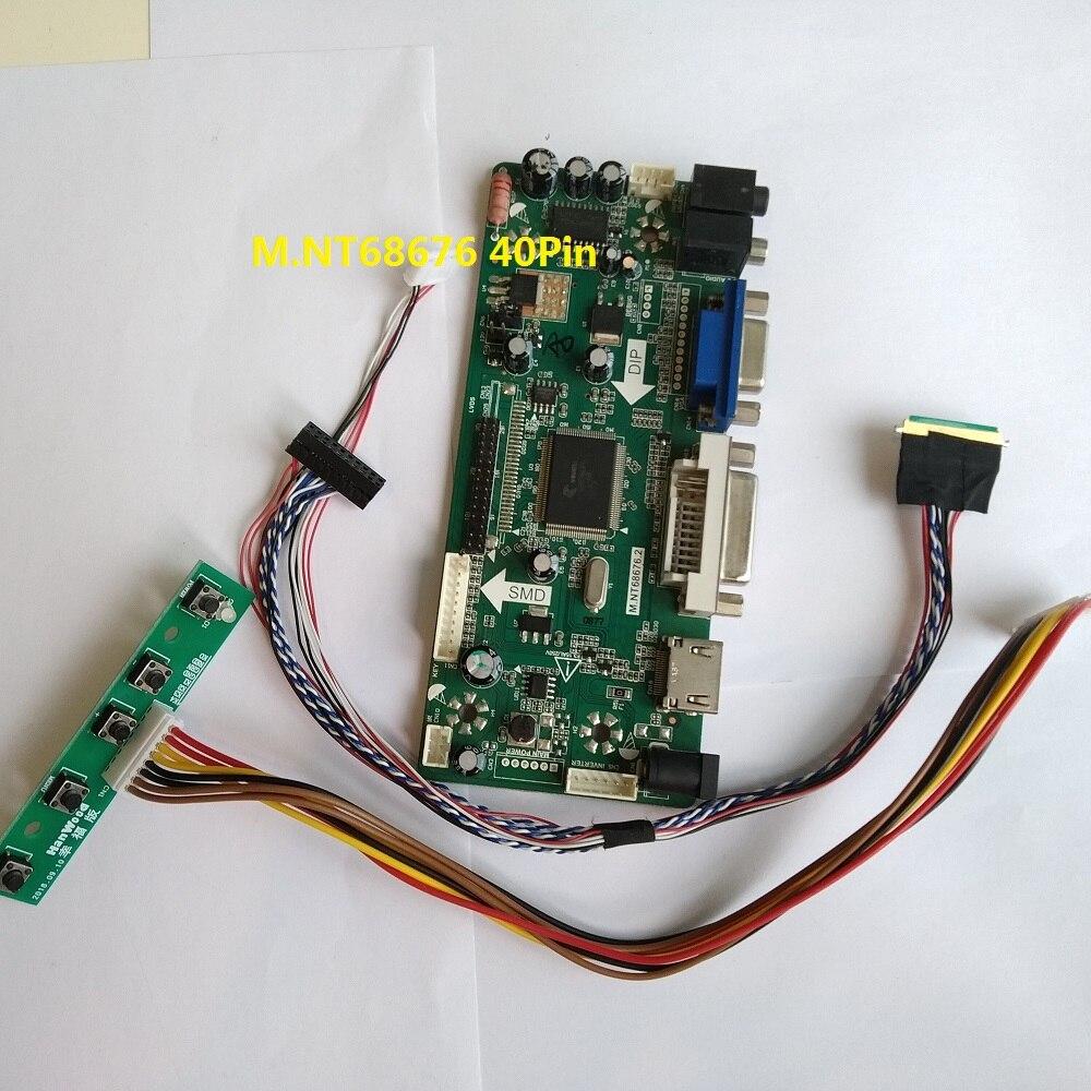 LCD Controller Converter Board Monitor Kit for N156BGE-EA2 HDMI+AV+VGA+USB