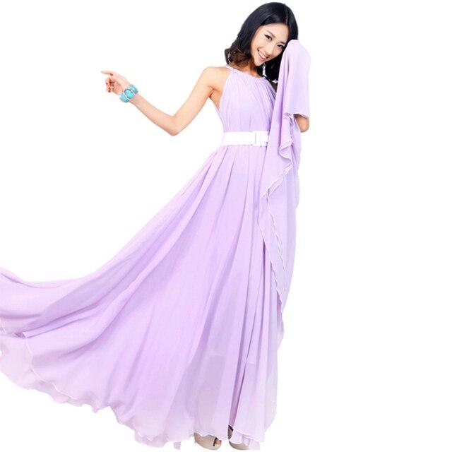 Plus Size Lavender Dress