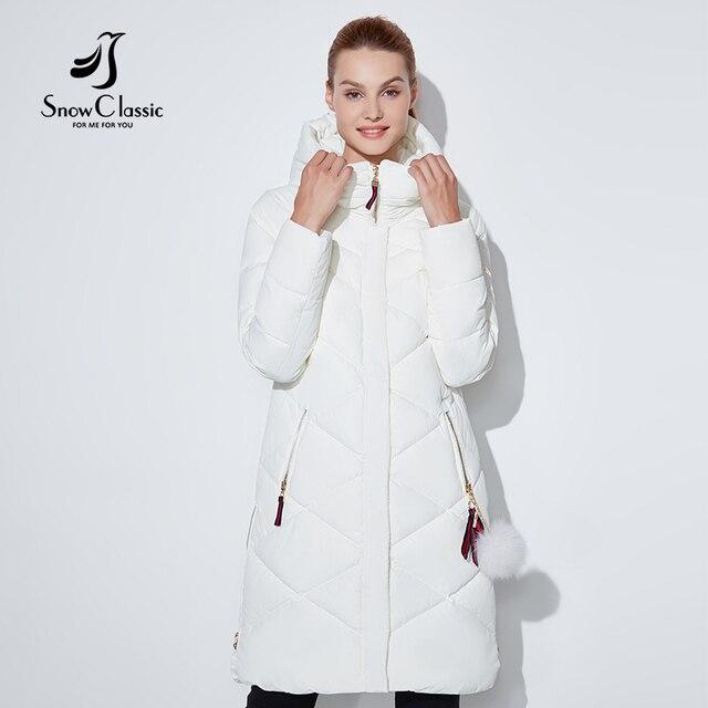 Зимняя куртка SnowClassic Тонкая короткая парка Гуд пальто роскошная верхняя одежда Аргайл куртка женская Preppy Style зимние пальто 2018