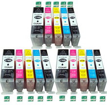 цены 15 Ink cartridges for Compatible Canon 570 571 Pixma MG 5750 5751 5752 5753 6850 6851 6852 6853 7750 7751 7752 7753