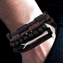 0dd666b22655 Anchor Bracelet for Men - Compra lotes baratos de Anchor Bracelet ...