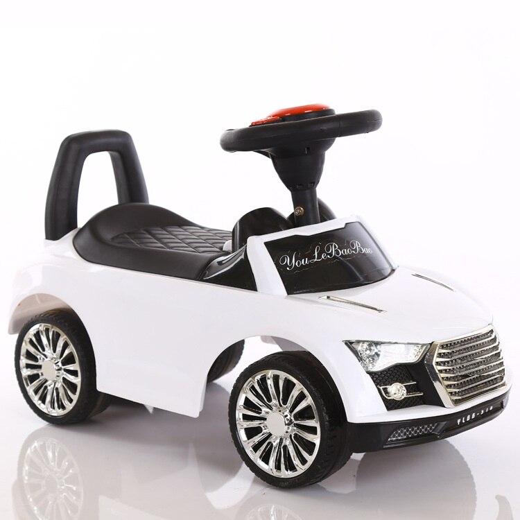 Livraison gratuite Scooter enfants quatre roues torsion voiture peut s'asseoir marcheur bébé yo infantile musique pied conduite voiture