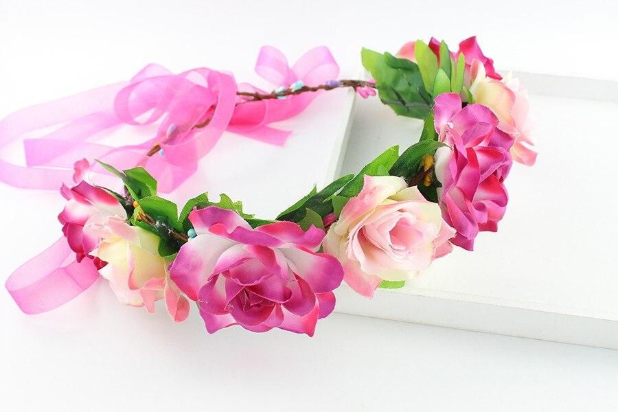 Ribbon Dummy Bretelles Clips Filles Floral papa Princesse Crochet Bord Réglable
