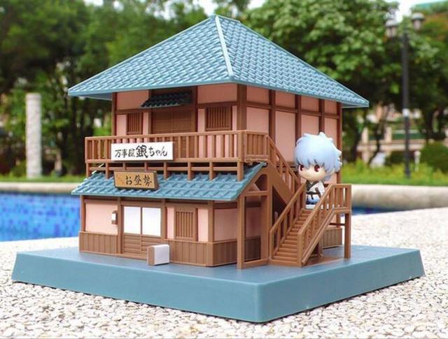 Аниме фигурка дом Гинтоки Гинтама 22 см