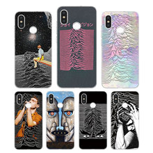 Silicone Case unknown pleasures Printing for Xiaomi Mi 6 8 9 SE A1 5X A2 6X Mix 3 Play F1 Pro Lite Cover