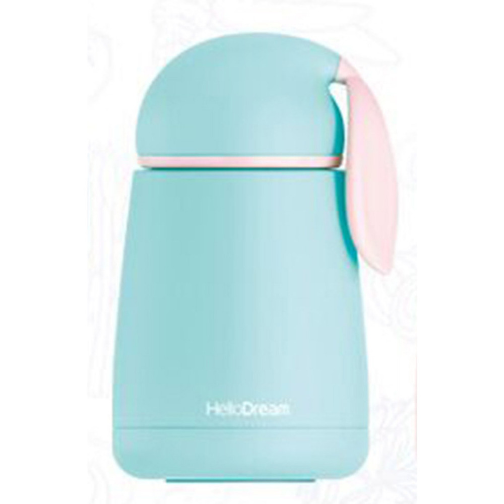 300ML Mini Portable Rabbit Children Cup Stainless Steel Vacuum Bottle Feeding Milk Insulated Kids Travel Water Leak Proof Bottle