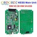 Unidade principal HW V4.036 V2.30 KESS V2 OBD2 Gerente Sintonia Kit mestre Versão ECU Tuning Chip Ferramenta KESS V2 Sem Tokens Limitada