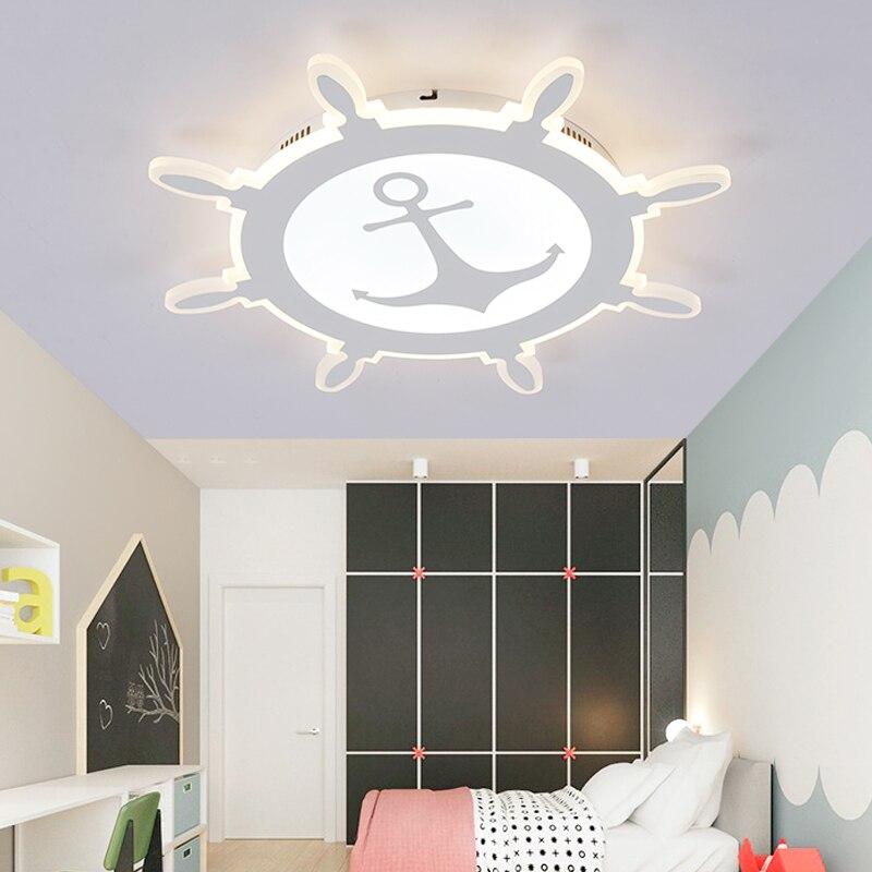 Nordic Modern children room Creative Geometric LED Glass Iron Ceiling Light Home Lighting Living Room Dining Study AC 110/240V