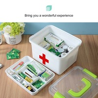Extra Large Household Multi Layer First Aid Kit Multifunctional Medicine Box First Aid Kit Storage Boxes