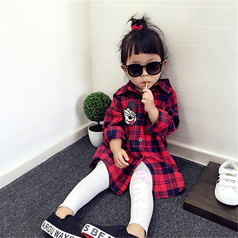 Spring-Winter-Family-Matching-Clothes-Baby-Girl-Red-Lattice-Cardigan-Shirt-Mother-And-Daughter-Clothes-Windbreaker (1)