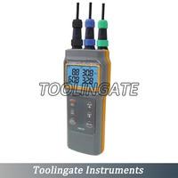 AZ86031 Portable PH Meter Water Quality Analyzer Handheld Dissolved Oxygen Tester PH Conductivity Salinity Temperature Meter