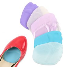 Silicone Forefoot Foot Insole Pads Gel Insoles Cushion High Heels Foot Pad Transverse Arch Support Shoe Insert Shoe Accessories(China)