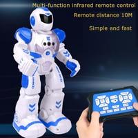 Remote Control Intelligent Robot Gesture Control Induction Programming Mechanical Warfare Charging Children's Toys Birthday Gift