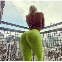 Hot Gym Pants Women Unique Fitness Leggings Workout Sports Running Sexy Push Up Wear Elastic Slim