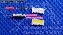 Pour SAMSUNG LED LCD rétro éclairage TV Application LED rétro éclairage bord LED série 2 W 9 V 7032 blanc froid SVTE7032P3 GW