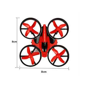 Eachine E010 Mini 2.4G 4CH 6 Axis 3D Headless Mode Memory Function RC Quadcopter RTF RC Tiny Gift Present Kid Toys 3