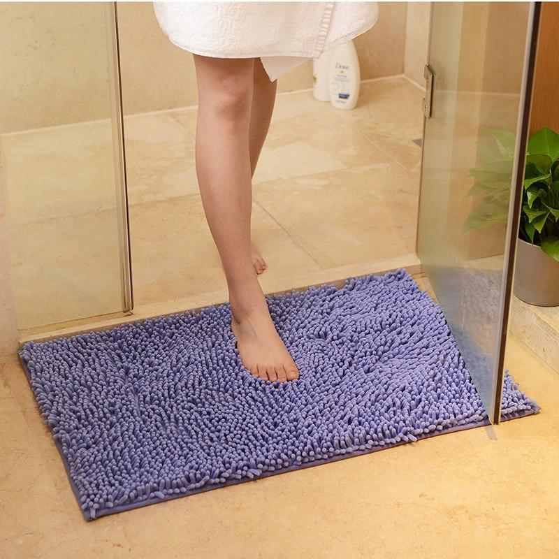 Door Mat Bathroom Rug Bedroom Carpet Bath Mats Rug Non-Slip Sea beach 40*60cm