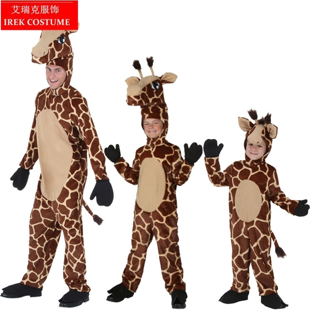 irek new cosplay costume luxury halloween costume deer stage performance clothing animal adult children giraffe costume