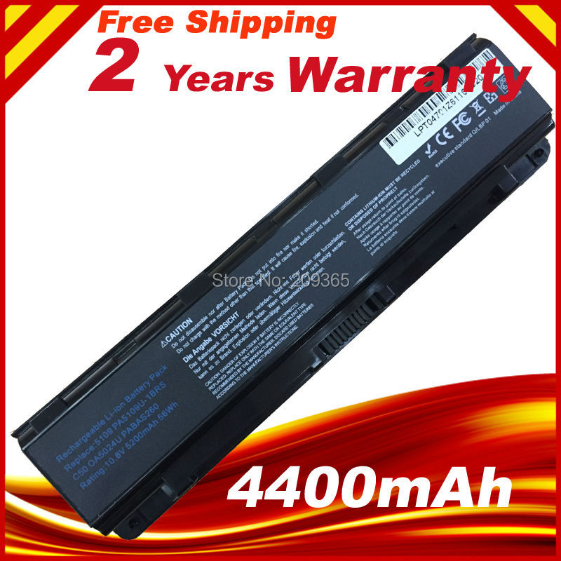 Laptop battery PA5109U PA5109U-1BRS Notebook battery For Toshiba Satellite C50T C55 C55D C75 akku цена и фото