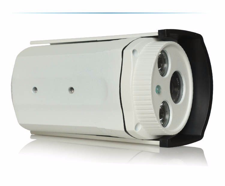 Haikang Two Array Leds Metal Case 1080P,960P ,720P Cmos HD 3mp Lens With POE IP Camera picture 03