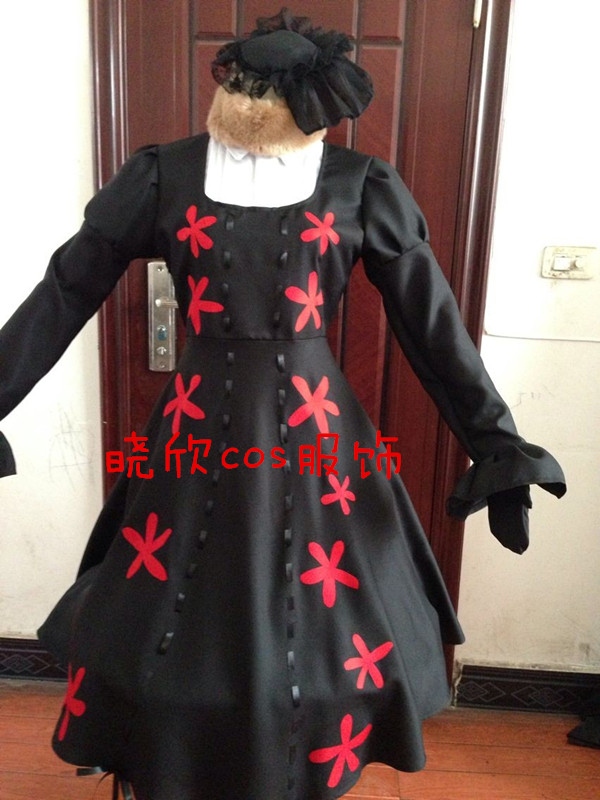 New Arrivel APH Axis Powers Hetalia Russia Anya Braginskaya dress Cosplay  Costume Full Set  Halloween cosplay