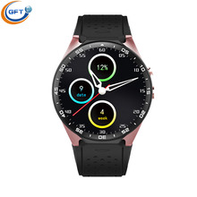 GFT KW88 3G wifi smart watch sim Fansion BT 4 0 font b smartwatch b font